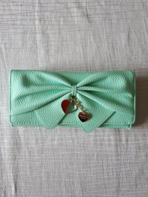 Portefeuille turquoise