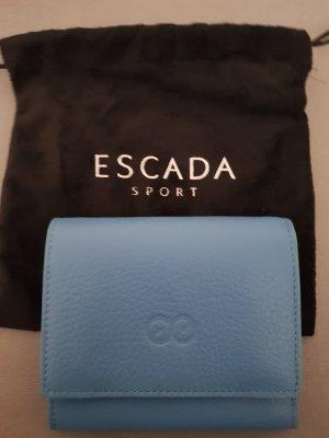 Geldbörse Leder hellblau Escada neu