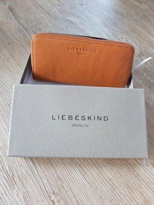 Liebeskind Wallet camel leather