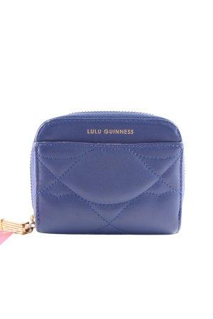 """Cartera """"Lulu Guinness"""" azul oscuro"""