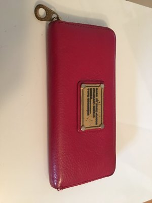 Marc by Marc Jacobs Wallet brick red leather
