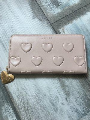 Geldbörse mit Herzen in Altrosa 49€