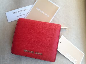 Michael Kors Portemonnee rood-goud Leer