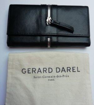 Gerard darel Portefeuille noir cuir