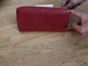 Skagen Wallet dark red