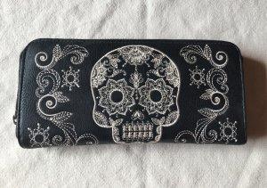 Geldbörse Skull von Loungefly Skull