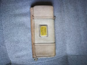 Fossil Wallet cream