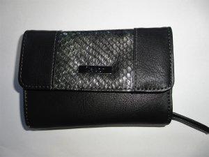 Gabor Portefeuille noir-argenté faux cuir