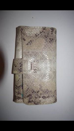 Geldbörse von Guess im schlangenmuster