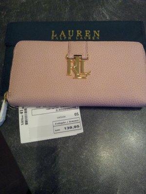 Lauren by Ralph Lauren Cartera color oro-rosa empolvado Cuero