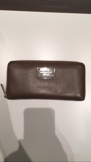 Michael Kors Wallet taupe-silver-colored