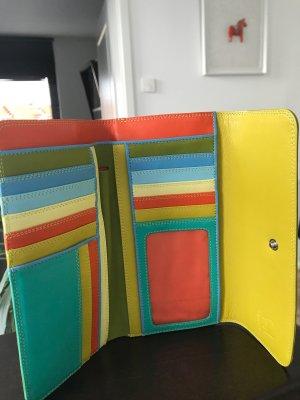 Portafogli multicolore Pelle