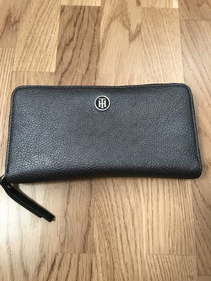 Tommy Hilfiger Wallet black-silver-colored