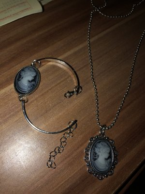 Bracelet silver-colored-blue