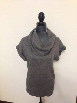 gemütlich für kalte Tage -grauer Strickrolli von H&M in Gr.M
