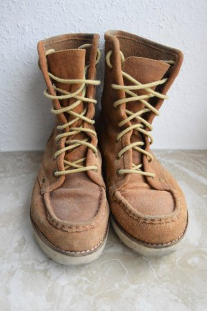 Gemütliche Boots - Leder - Plateau - Buffalo - 38