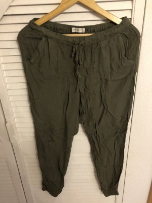 Gemütliche Hose aus Khaki