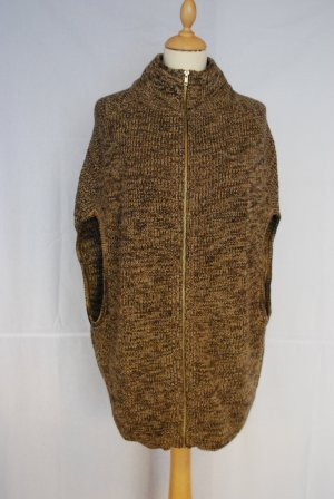 H&M Long Knitted Vest brown