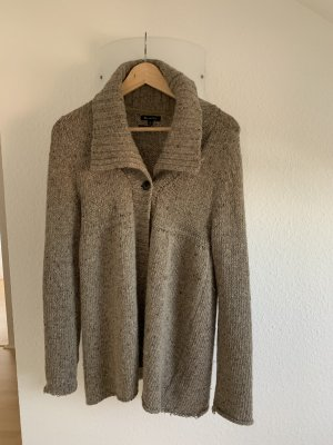 Massimo Dutti Coarse Knitted Jacket multicolored