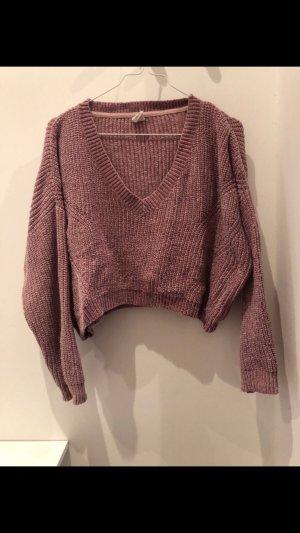 Urban Outfitters V-halstrui rosé-stoffig roze
