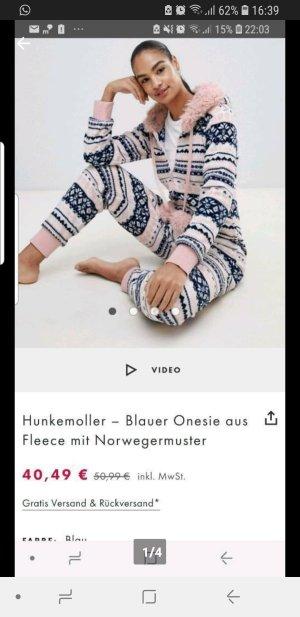 Hunkemöller Onesie pink-blue