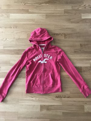Gemütlicher Hollister Sweater in Pink, Gr. M