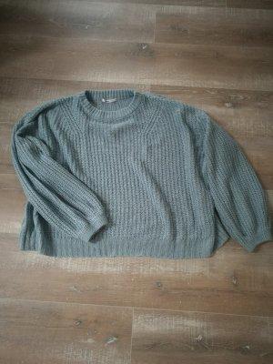 Gemütlicher Oversize Pullover in Mint