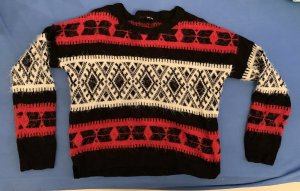 Tally Weijl Christmasjumper multicolored