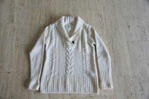 Gemütlicher Pullover mit großem Kragen, XL, neu