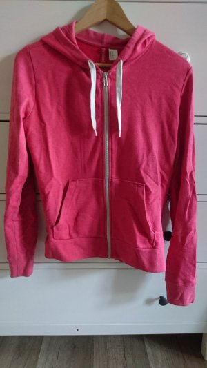 H&M Divided Hooded Sweatshirt salmon