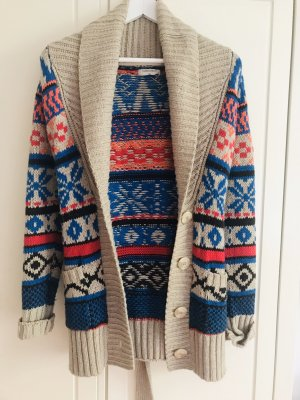 Sutherland Coarse Knitted Jacket multicolored