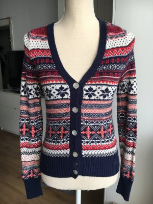 H&M L.O.G.G. Pull norvégien multicolore coton