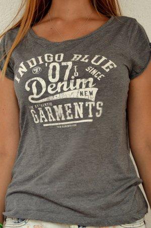 Gemütliches graues Shirt mit Print :)