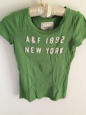 gemütliches grünes Shirt von Abercrombie & Fitch