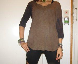gemütliches Langarmshirt handgefärbt