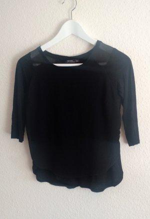 Gemütliches schwarzes T-Shirt - Bershka