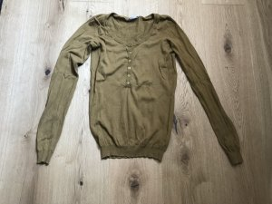 3 Suisses Suéter marrón arena