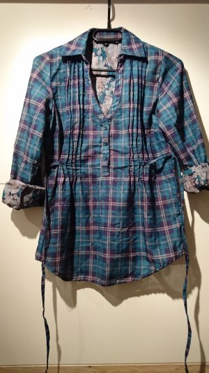 Gemusterte Bluse, Größe 34
