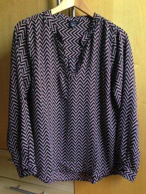 Gemusterte Bluse von Amisu Größe S