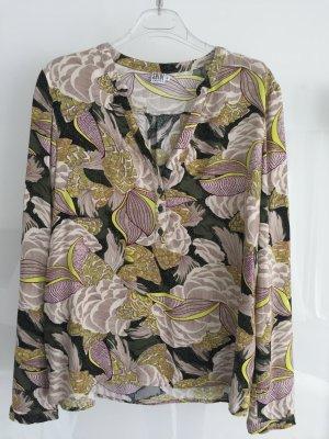 Gemusterte Bluse von Saint Tropez
