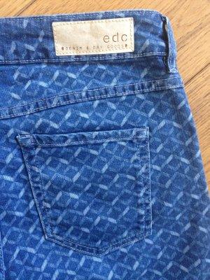 Gemusterte Esprit Jeans Skin fit