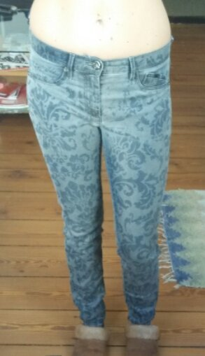 Gemusterte GAS Jeggings