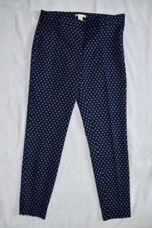 H&M Wortelbroek donkerblauw Polyester