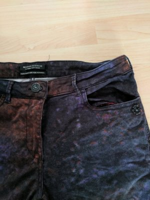 Gemusterte Jeans von Maison Scotch