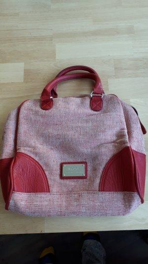 Gemusterte Rot-Weiße Handtasche