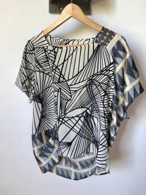 Marni Zijden blouse veelkleurig Zijde