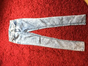 gemusterte Super Skinny Jeggings