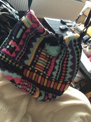 Gemusterte Tasche zum umhängen