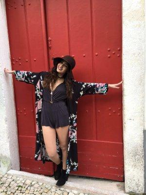 Jacqueline de Yong Chaqueta tipo blusa negro