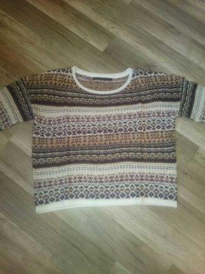 gemusterter Pullover von only